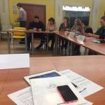 Москва: рабочее совещание представителей социальной защиты населения.